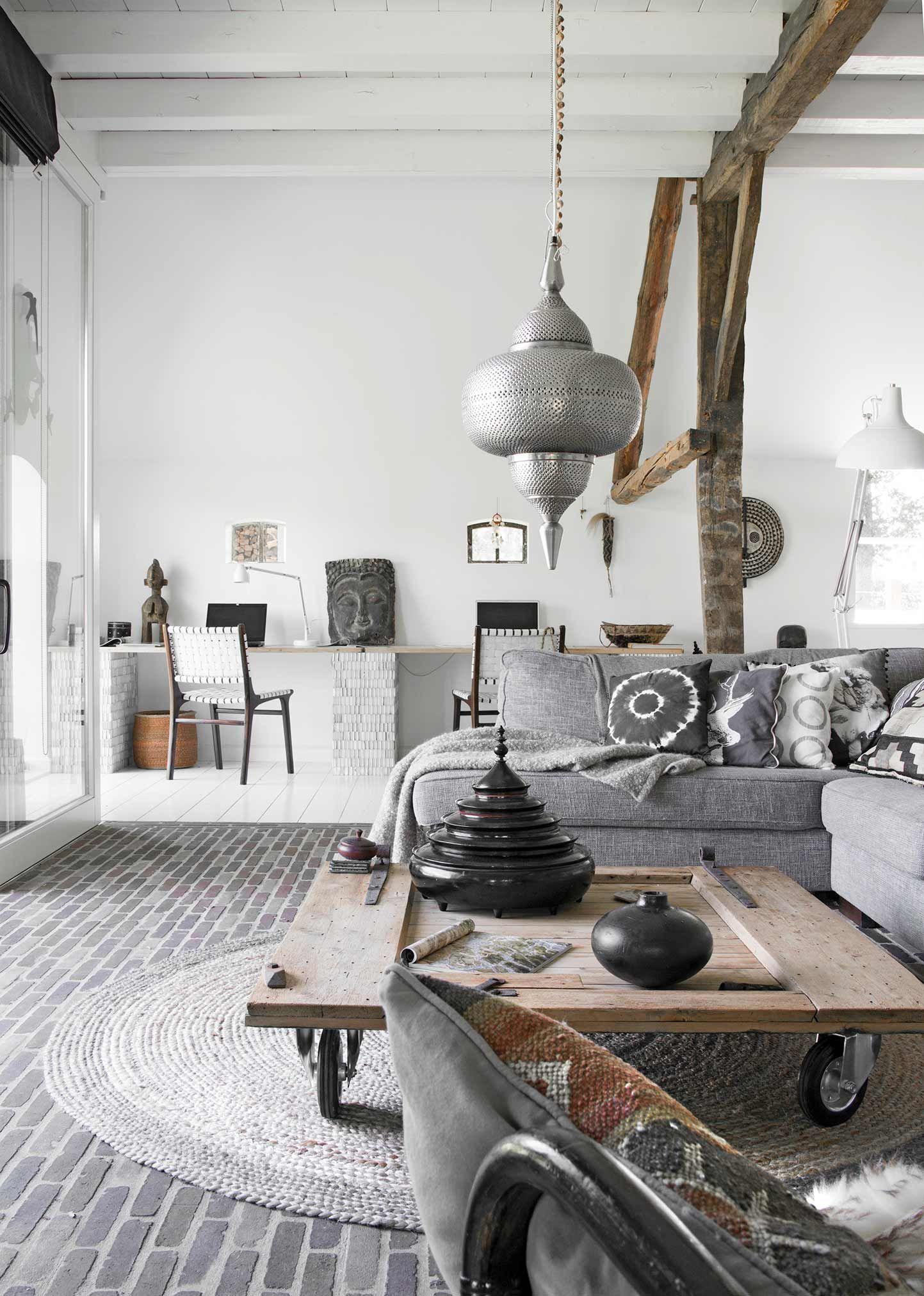Salon gris  5 façons d'utiliser cette couleur   Decoraciones de ...