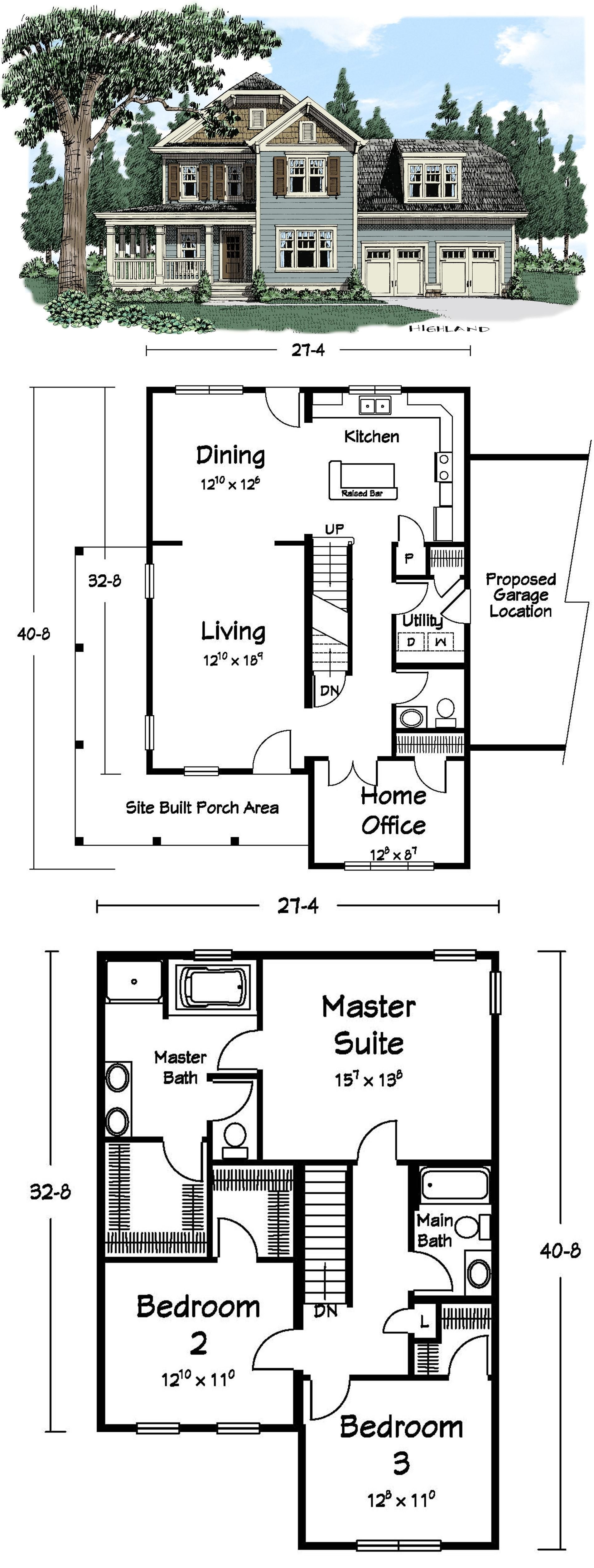 this 3 bedroom two story juliette plan is looking for the perfect