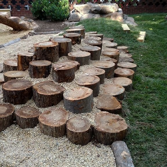 Playground Area Ideas: Natural Playgrounds - Google Search