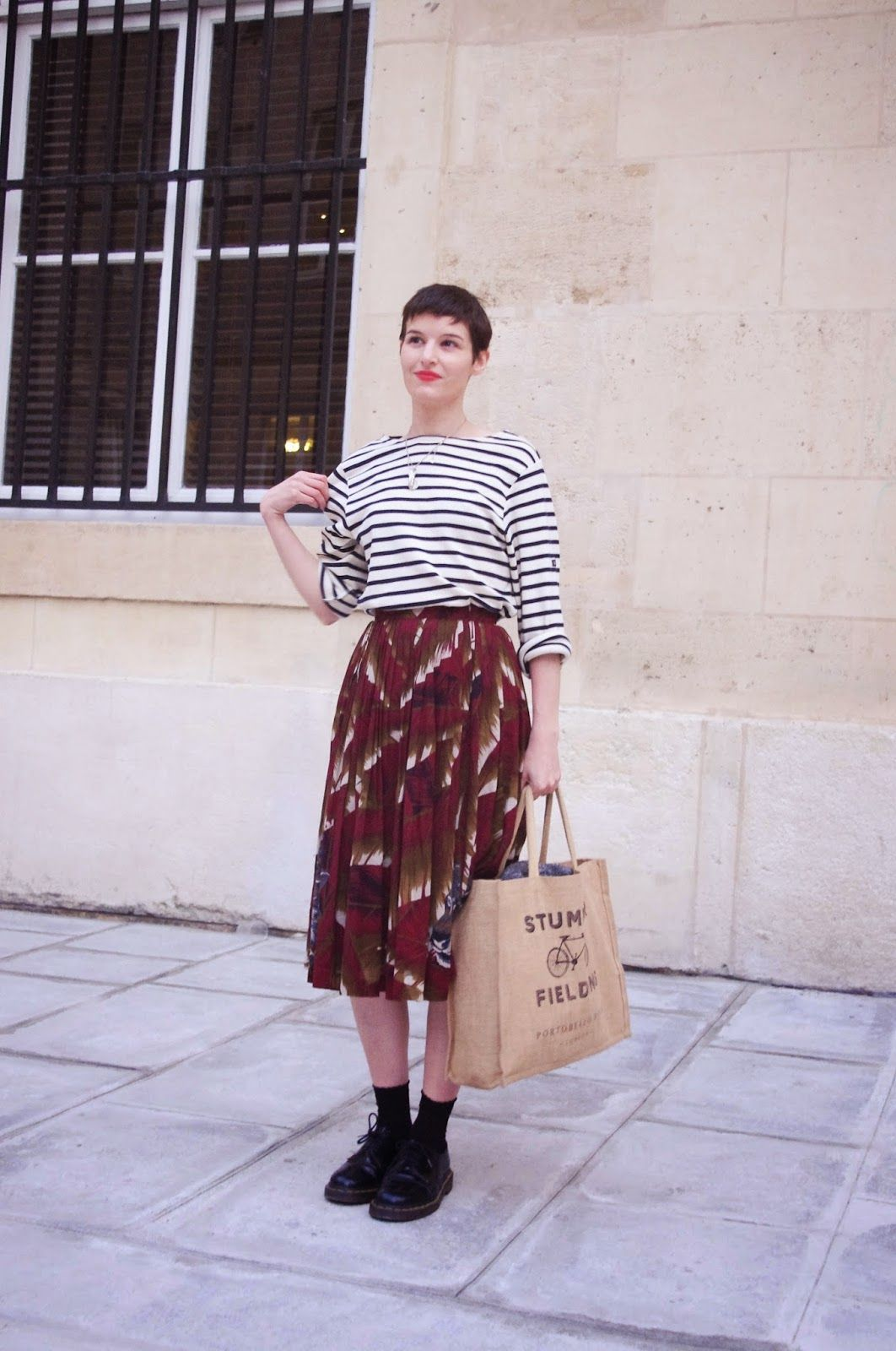 b08c47a92ffb French Parisian Fashion Blogger Blog Mode Paris Vintage | Hair style ...