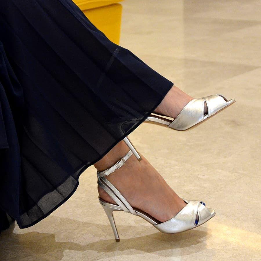 Carolyn Srebrne Sandalki Na Szpilce Oficjalna Strona Gassu Women Shoes Heels Shoes