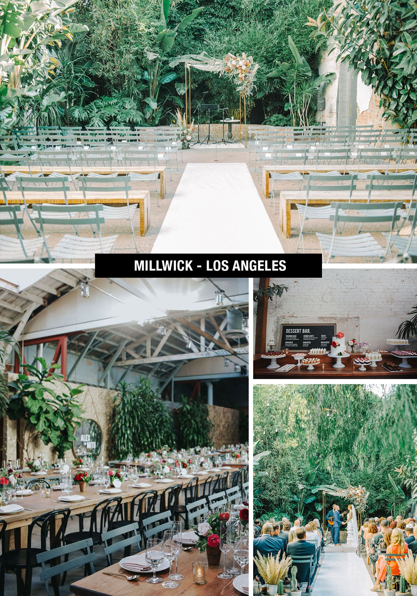 Definitive List Of The Best Outdoor Wedding Venues From Los
