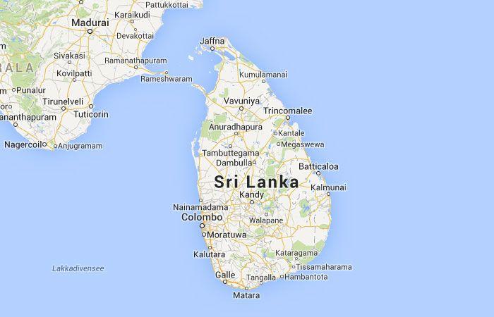 Mapa De Sri Lanka.Mapa De Sri Lanka Sri Lanka Mapas Y Asia