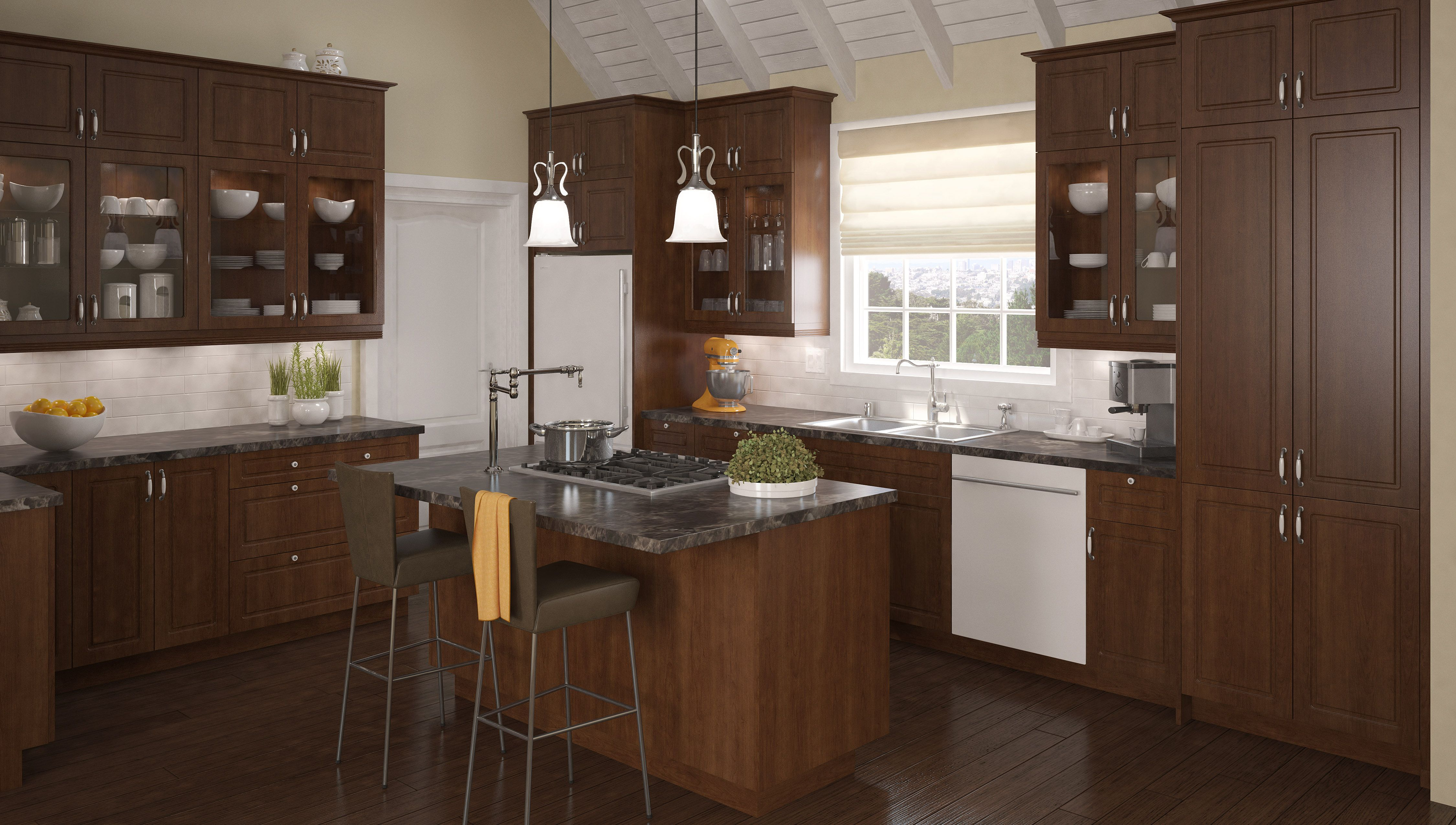 Home Depot Kitchen Cabinets Canada Transitional Kitchen From Fabritec Instant Fallidays