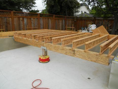 Ground Floor Girder And Joist Installation With Images Ground