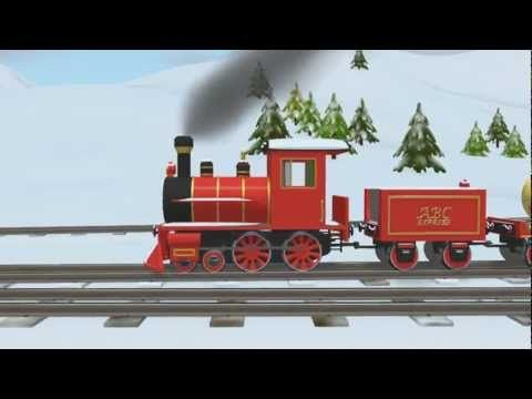 Learn Colors with Shawn the Train Christmas / Winter Theme