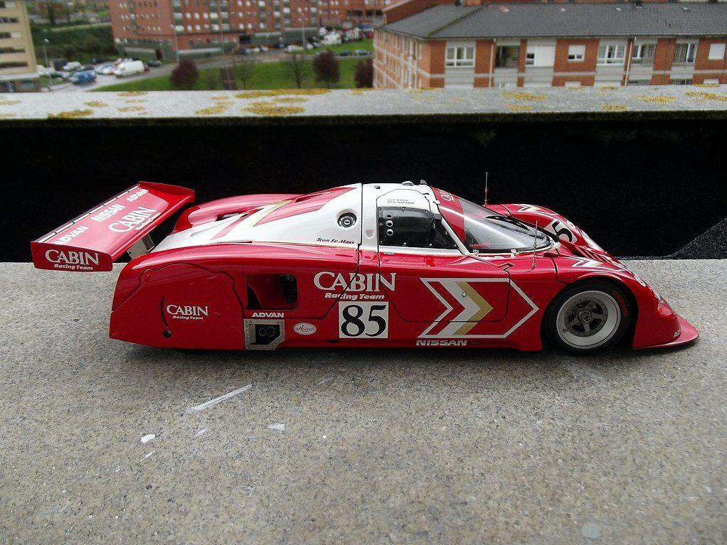 """Nissan R90V Team le mans """"Cabin"""" 85 T.Wada/O.Nakako 1000"""