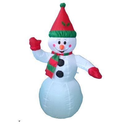 BZB Goods Christmas Inflatable Snowman Decoration Products