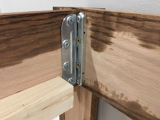 Bed Frame Hardware Purchased From Amazon Built In Bed Bed Frame