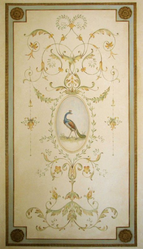 Famous Art Nouveau Wall Stencils Photos - Wall Art Design ...