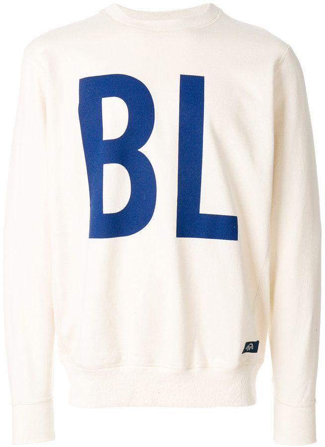 Bleu De Paname printed sweatshirt