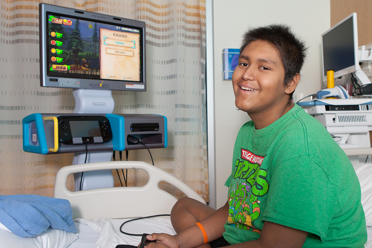Starlight Fun Centers in hospitals now feature Wii U units