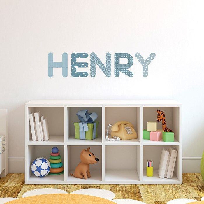personalised name wall stickers gettingpersonal co uk charlie s
