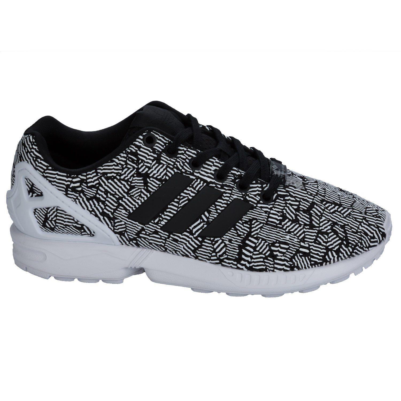 promo code a68fc 14811 adidas Originals Womens ZX Flux Trainers Core US6.5 Black ...