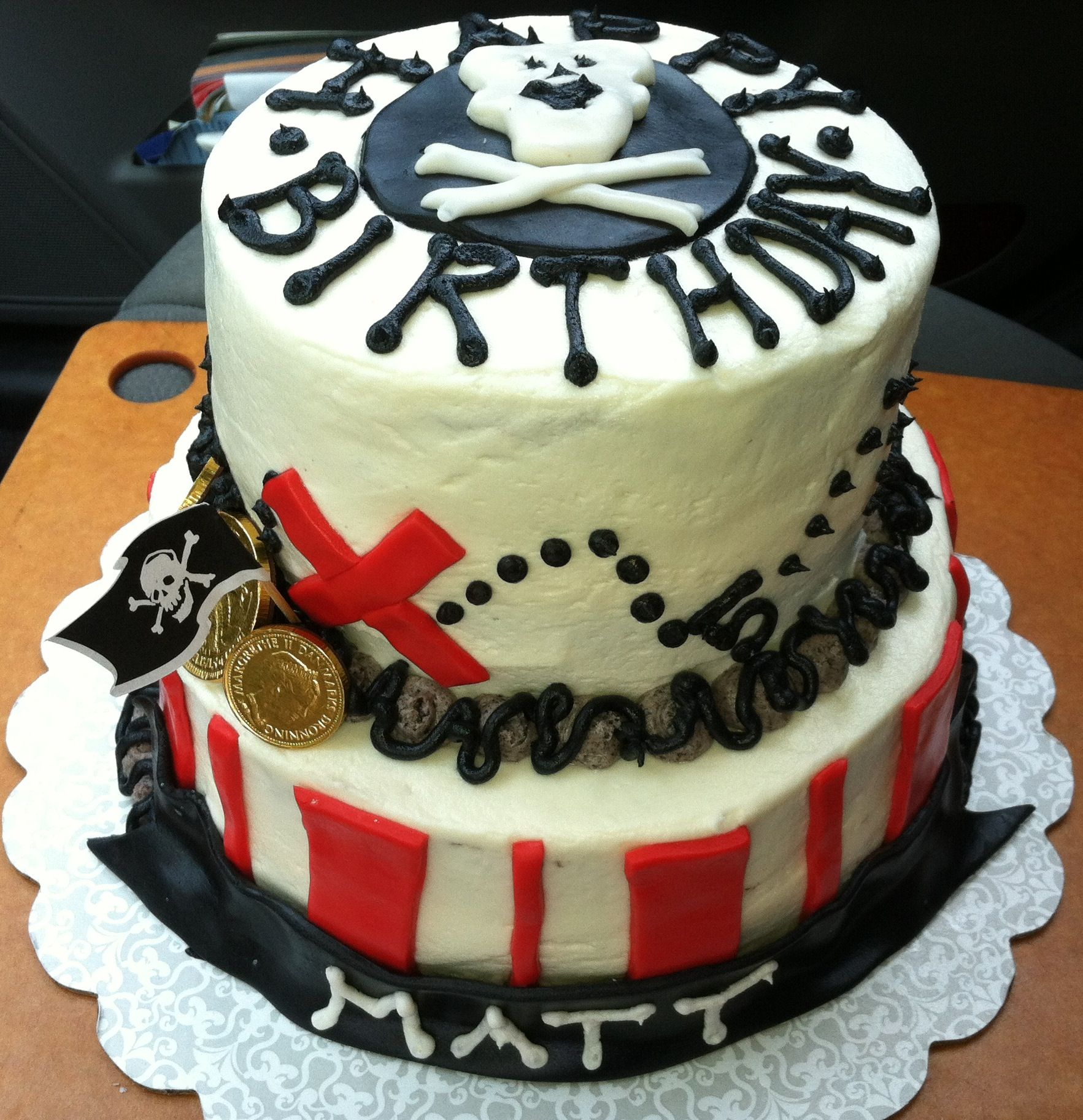 Now thats some sweet pirate loot cake creative cakes