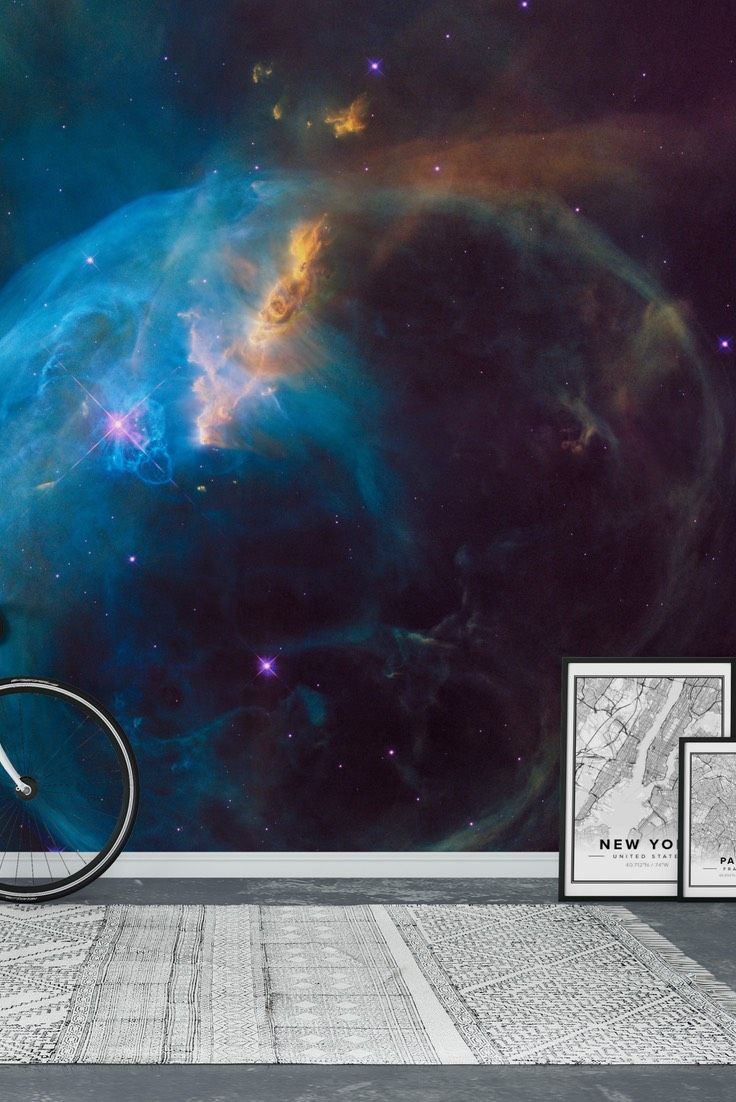High Quality Outer Space Wall Mural   Wallpaper Part 17