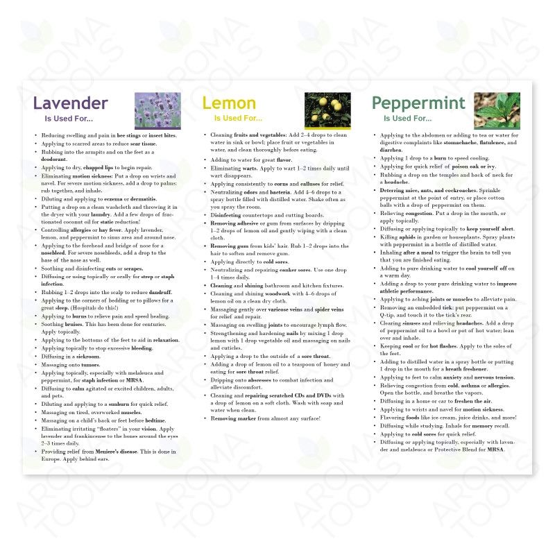 Lavender Is Used For Pamphlet - Google Search | Doterra