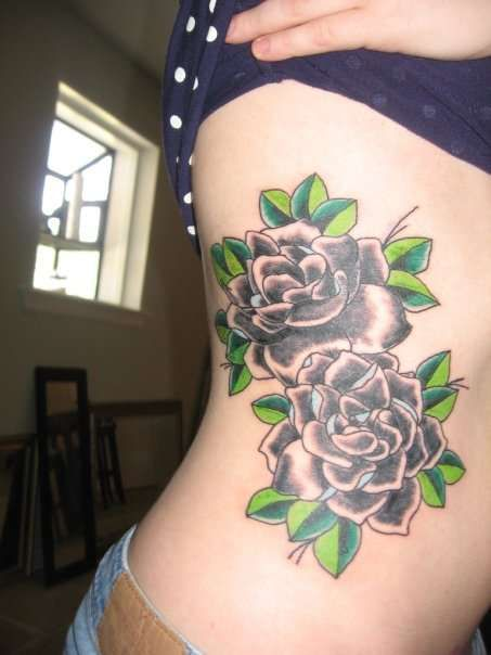 gardenia flower tattoo