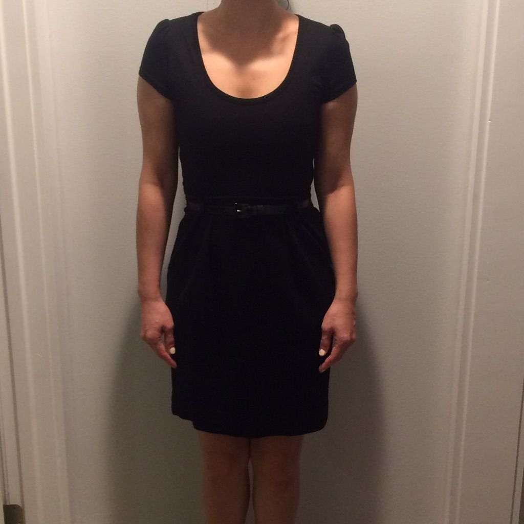 Black belted dress products