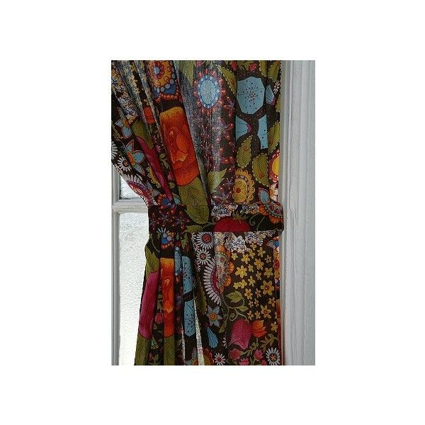 UrbanOutfitters.com > Bohemian Bouquet Curtain ($38) found on Polyvore