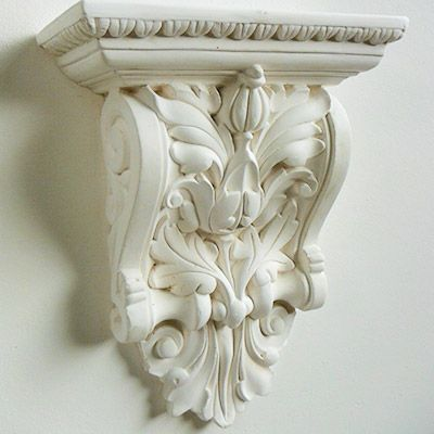 Decorative plaster corbel | ID : lotus wall / pole in 2019