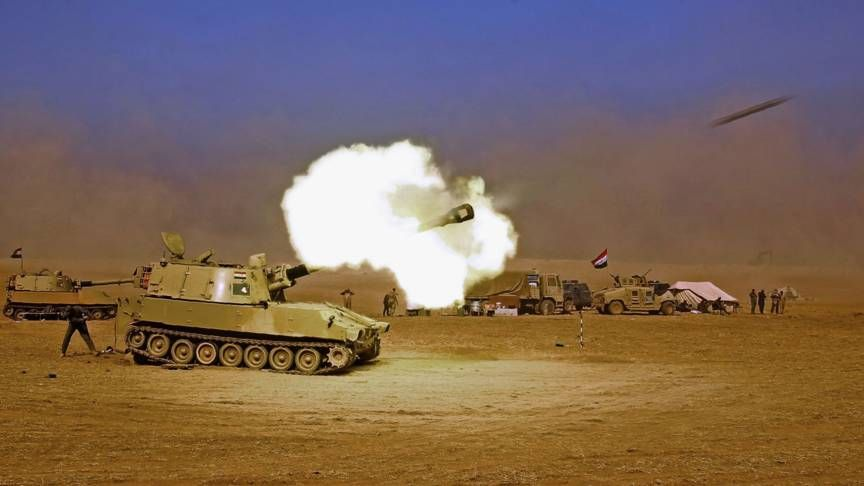 Premier Irak: opmars naar Mosul sneller dan verwacht   NOS
