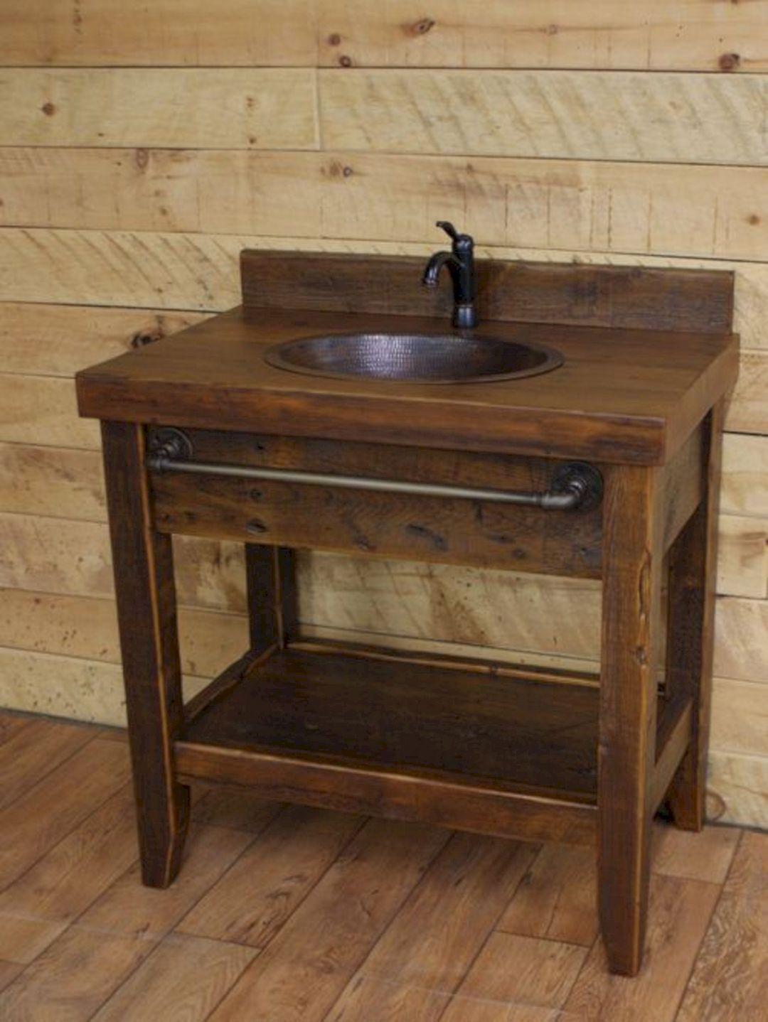 Rustic Industrial Vanity Reclaimed Barn Wood Vanity W Sliding Doors 3658 Reclaimed Barn Wood Vanity Industrial Vanity Rustic Bathroom Vanities