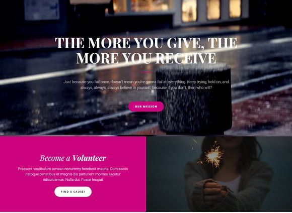 Run Charity - Bootstrap Landing Page. Bootstrap Themes. $12.00