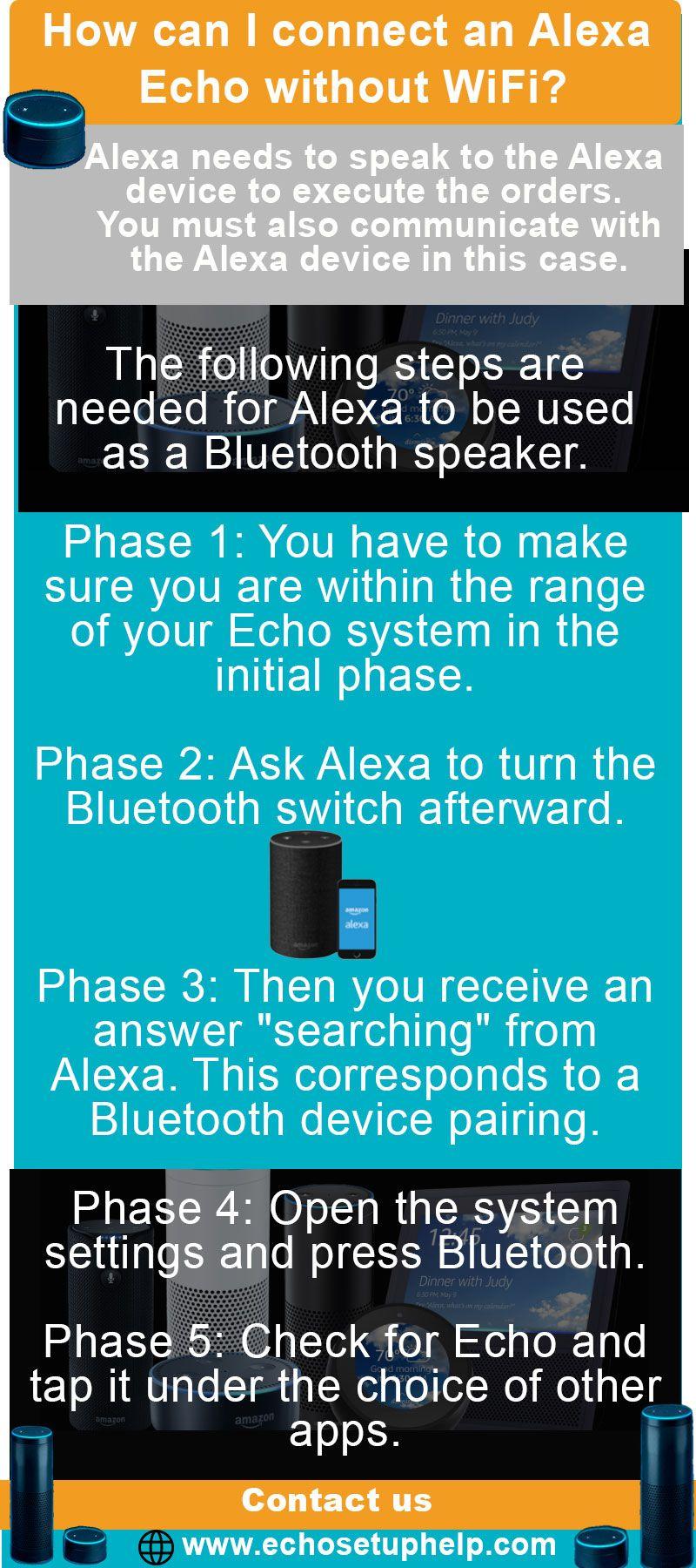 How Can I Connect An Alexa Echo Without Wifi In 2020 Alexa Echo Alexa Device Echo Setup