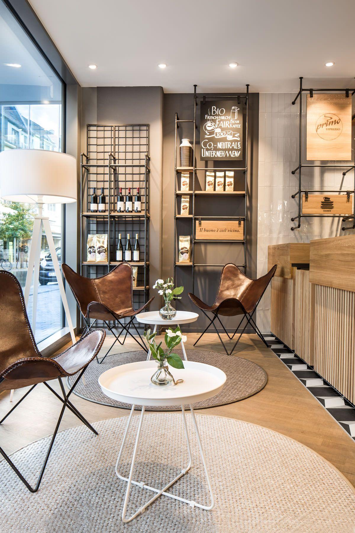 café, service counter, architecture, natural materials, wood, oak ...