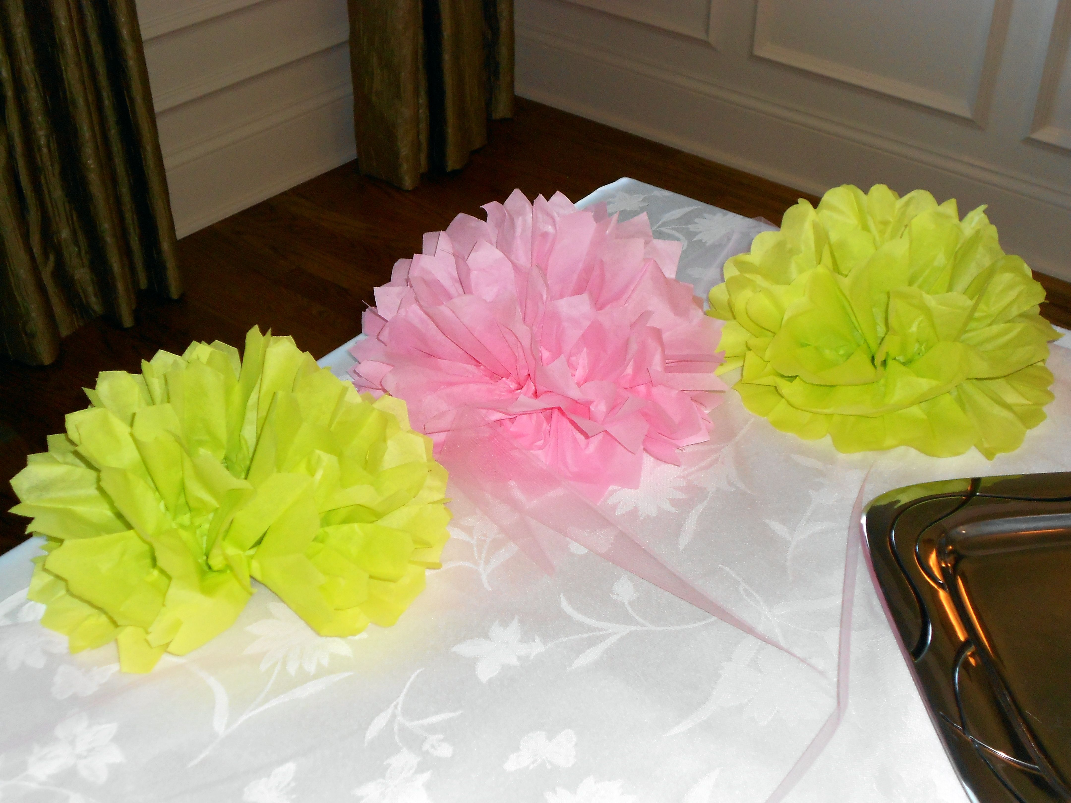 Tissue Paper Flowers Add A Splash Of Color For Not Much Effort Fold