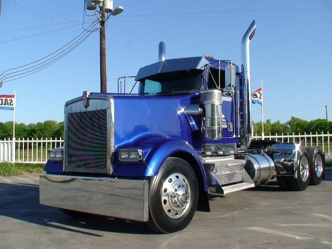 1997 Kenworth W 900l Day Cab Big Rig Trucks Big Trucks Kenworth