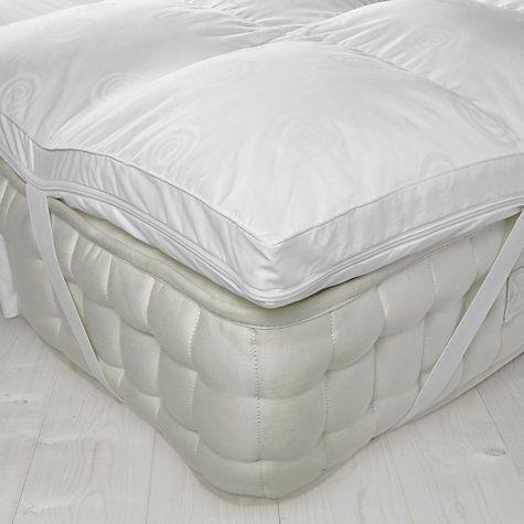 Buy John Lewis Luxury Memory Foam With Microfibre Mattress Topper