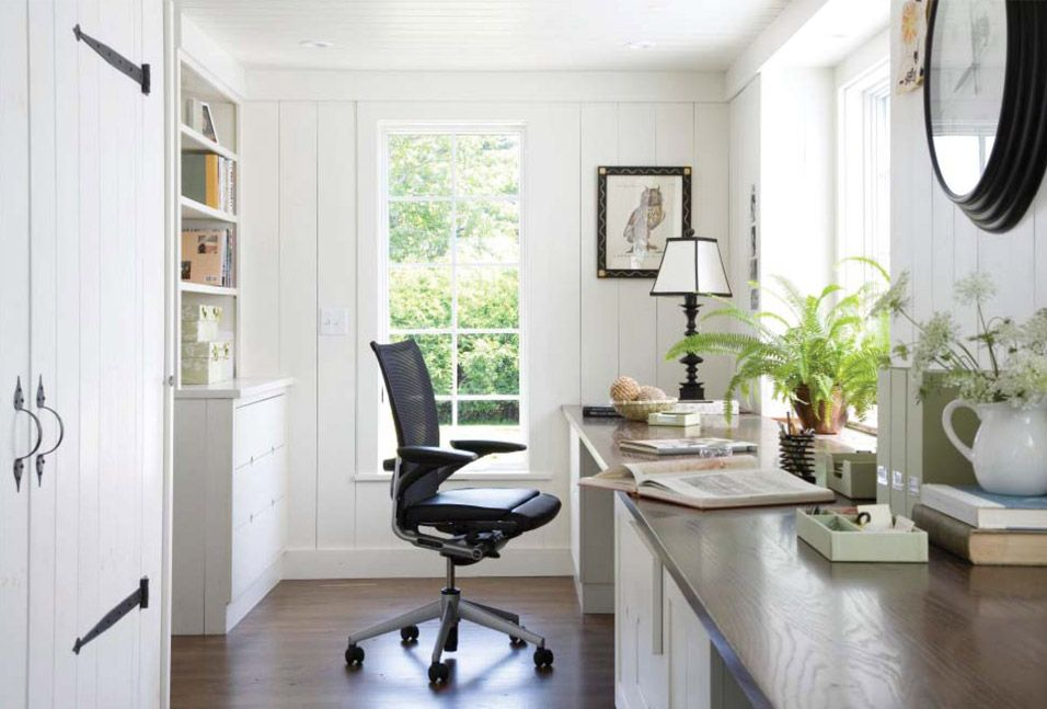 Interiors - Designer's Home | Farmhouse office decor ...