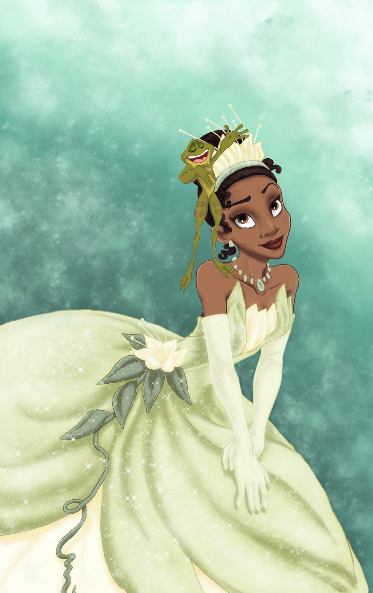 The Princess and The Frog by murr-ma-ing.deviantart.com on @deviantART