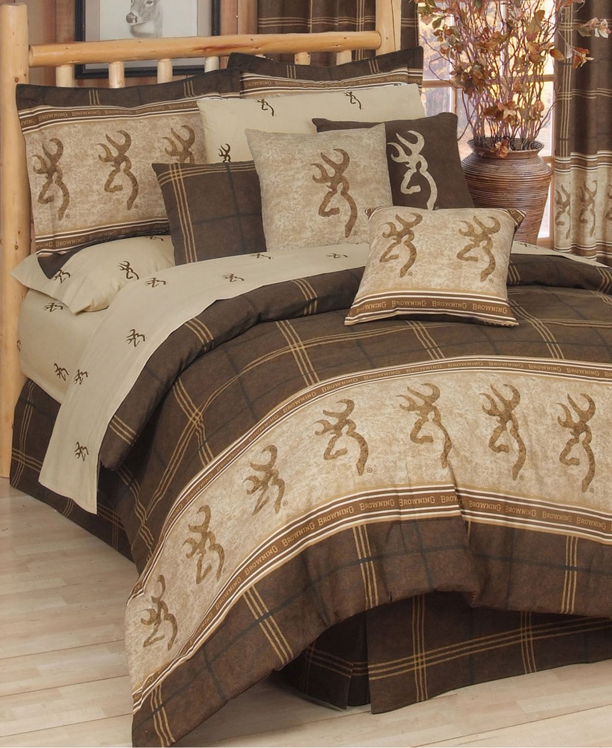 Photo of Karin Maki Browning Buckmark Queen Comforter Set & Reviews – Bed in a Bag – Bed & Bath – Macy's