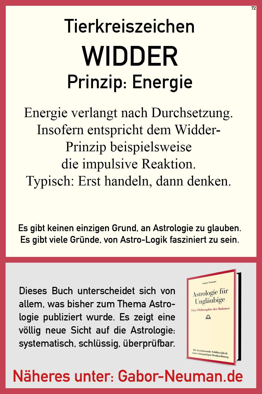 Das Widder Prinzip Energie Astrologie Philosophie Prinzipien