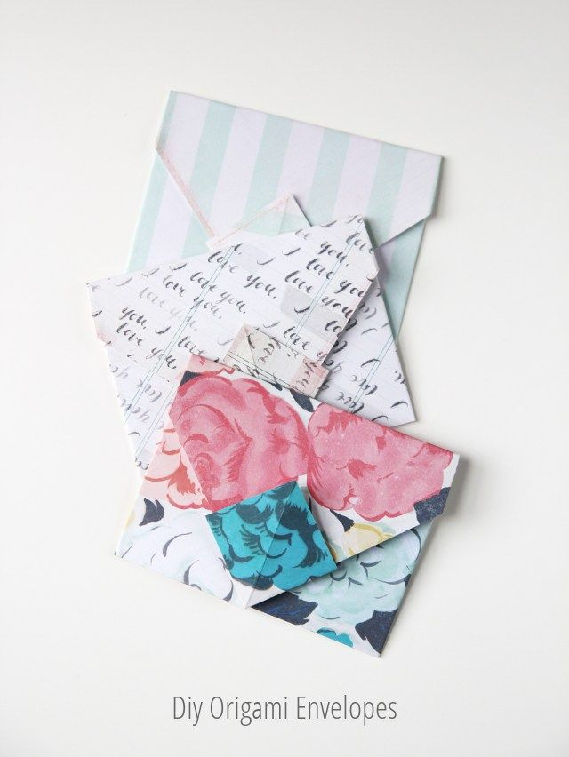 Diy Misc Origami Envelope Diy Origami How To Make Origami