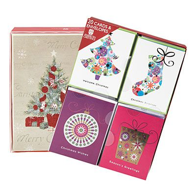 Boxed Christmas Cards WEDDING Pinterest Boxed christmas cards