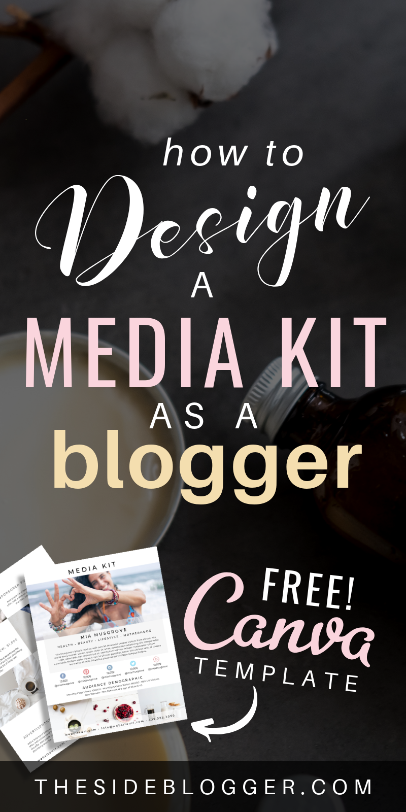 How and Why Should Bloggers Design a Media Kit (+ FREE Canva Template)