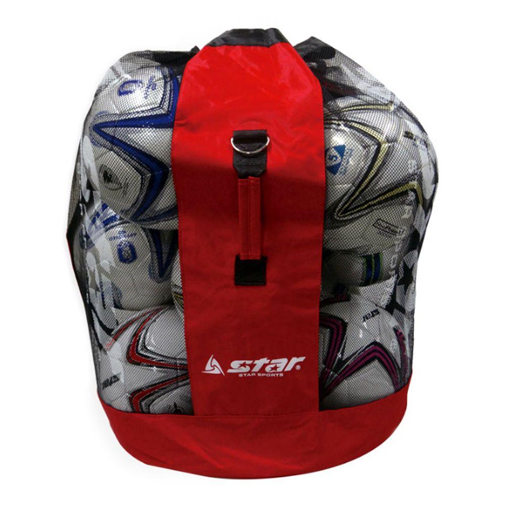 Star Training Football Mesh Sack Sports Ball Net Bag Soccer Volleyball 15 Balls Star Sack Backpacks Backpack Pockets Football And Basketball