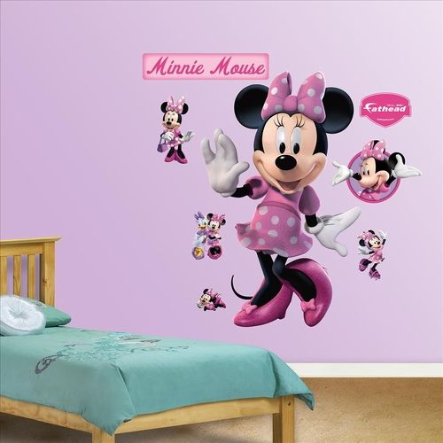 Minnie Mouse Fathead wall decorations | PartySuppliesDelivered.com ...