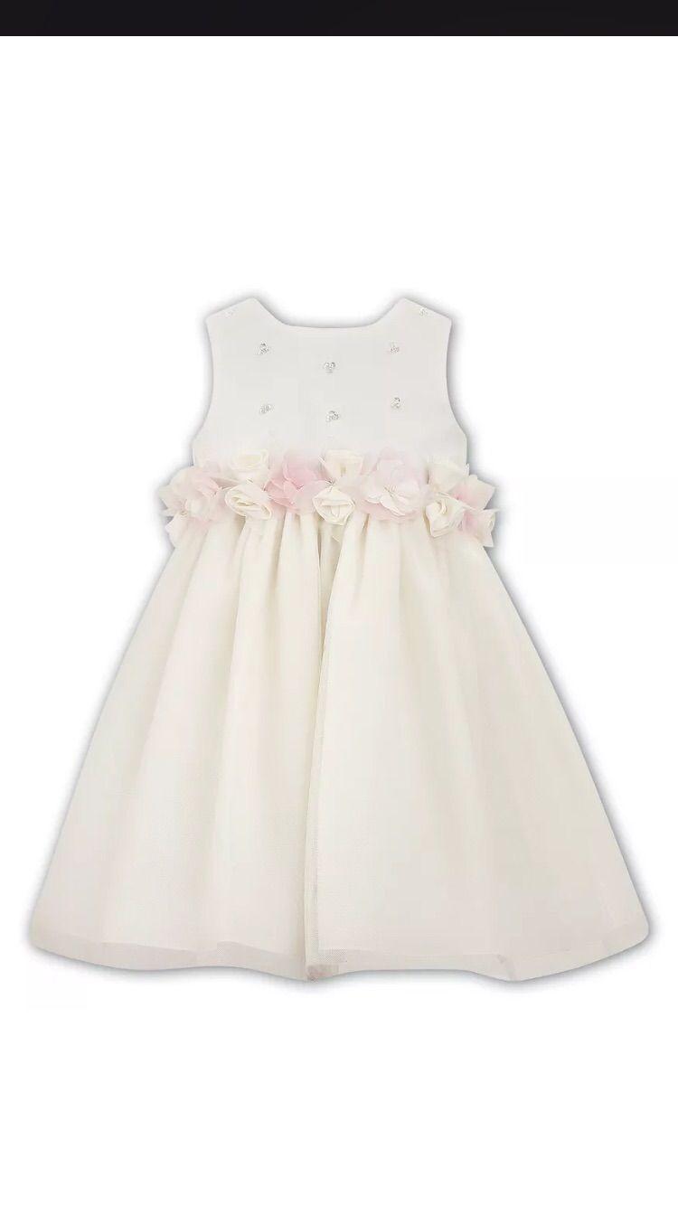 Vestiti Eleganti Neonata.Abito Neonata Elegante Da Cerimonia Primo Compleanno Firmato Moda