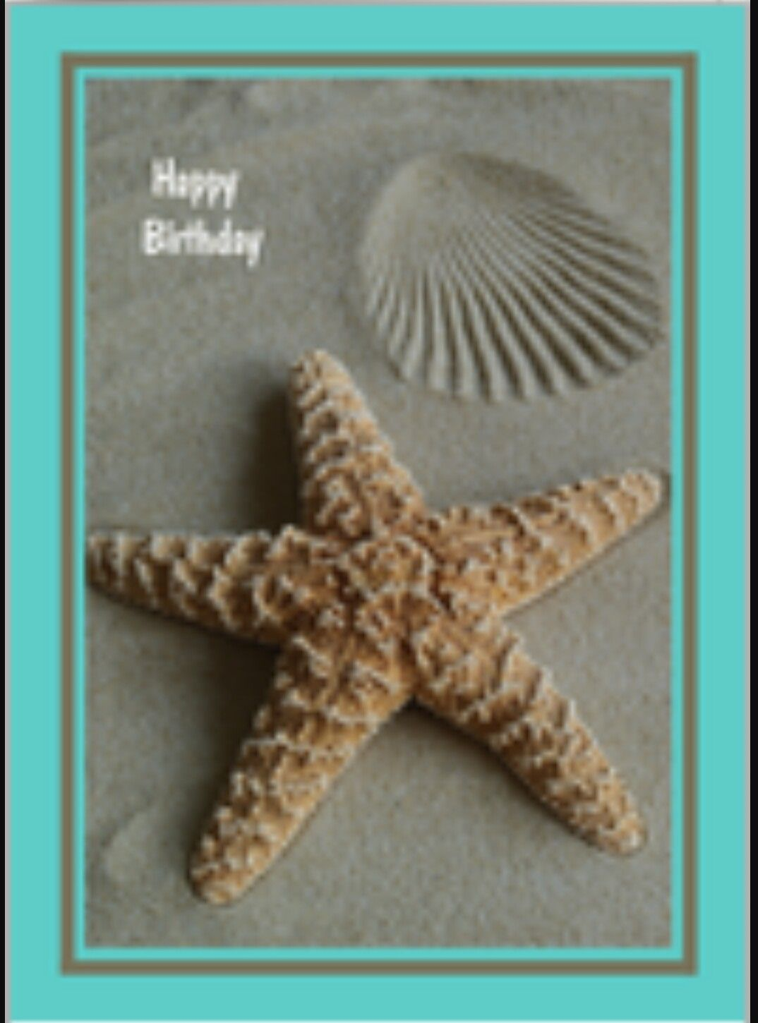 Starfish poem card - Birthday Greetings Birthday Wishes Happy Birthday Starfish Poems