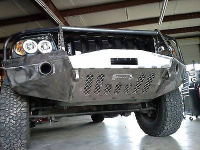 Jeep Grand Cherokee Wj Winch Front Steel Custom Bumper Jeep Wj