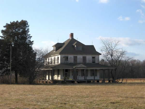 Abandoned House I (Maryland Eastern Shore)