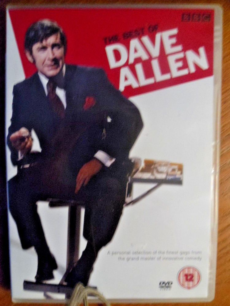 The Best Of Dave Allen - BBC- region 2 - Free P @ P - used Dave - free p&l template
