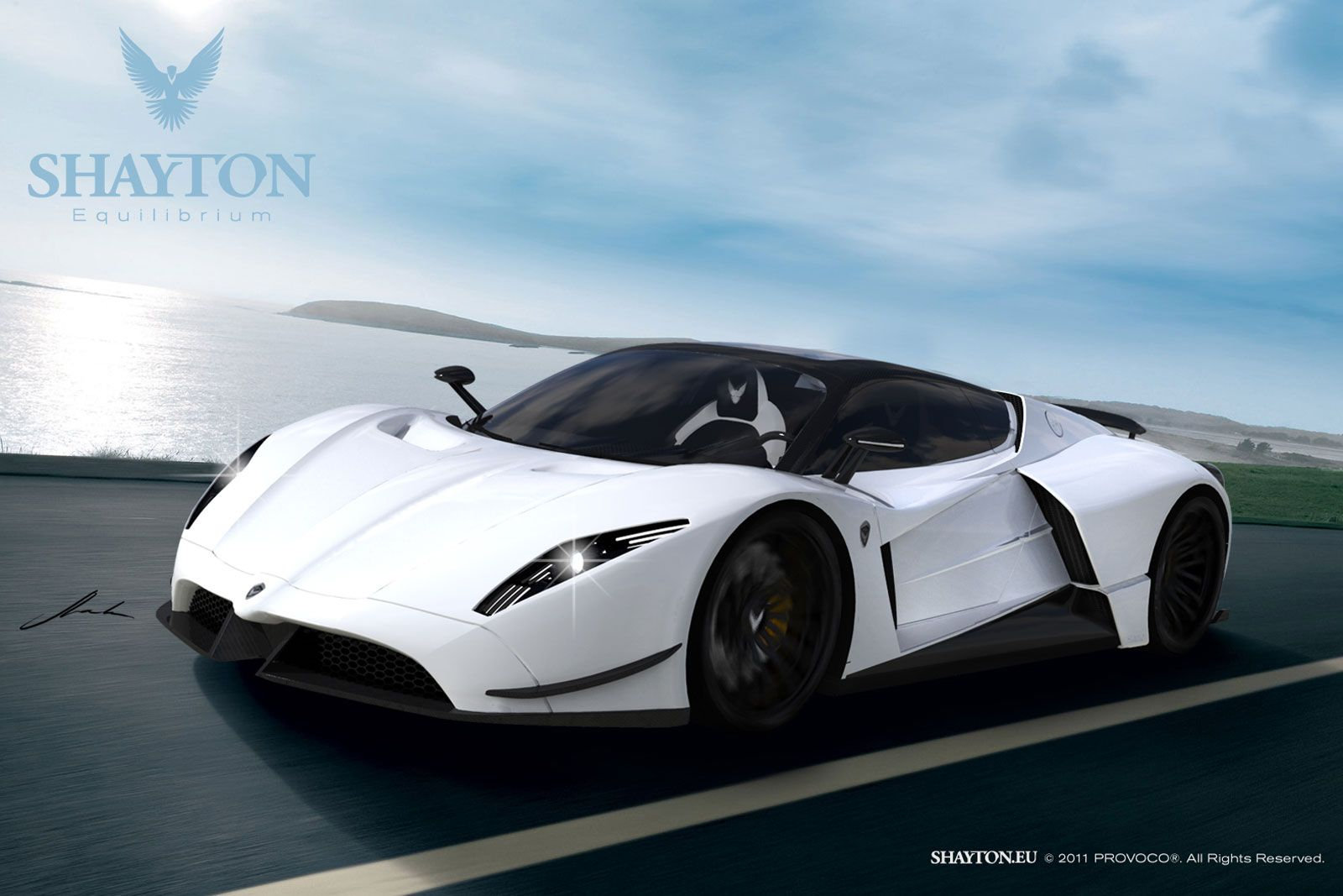 New Supercars Shayton Equilibrium Super Cars New Supercars New Cars