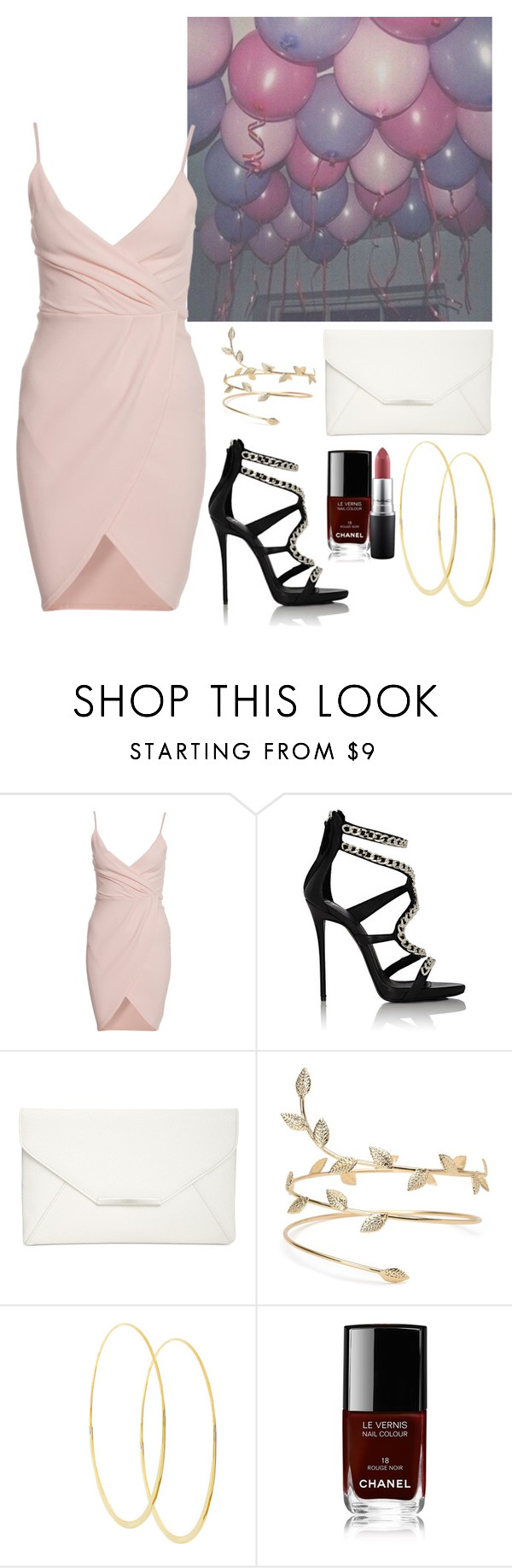 """It's Saturday and I wont be alone [Cheap thrills]"" by i-m-penguin-purple974 ❤ liked on Polyvore featuring Giuseppe Zanotti, Style & Co., Lana, Chanel, MAC Cosmetics, party, mac, giusepezanotti and cheapthrills"