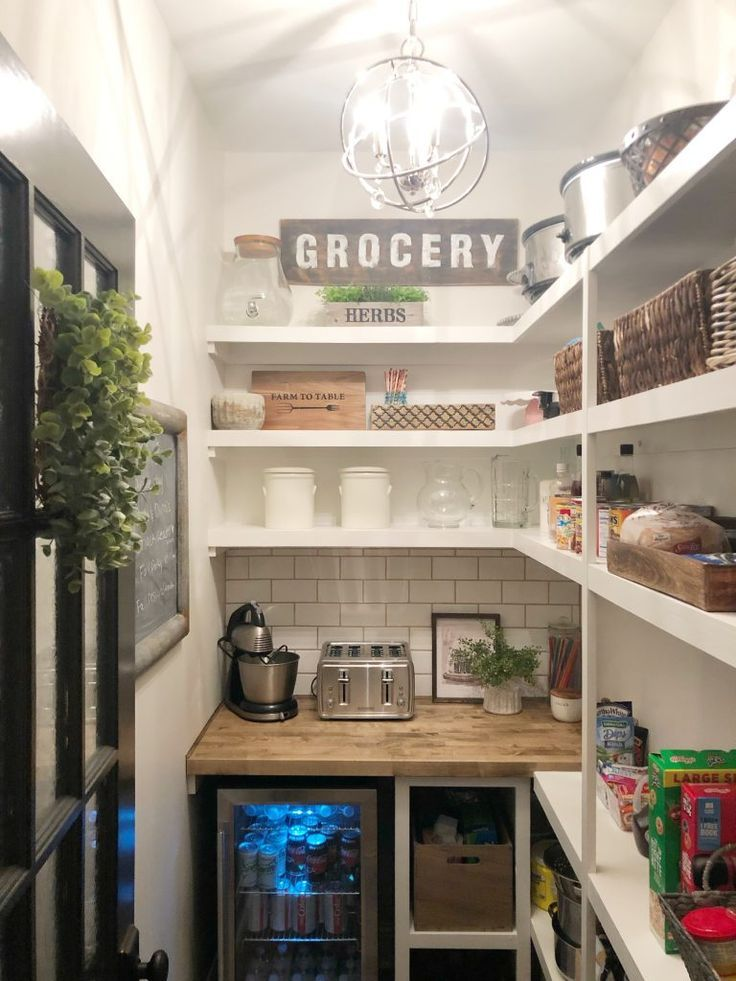 Walk In Pantry Makeover